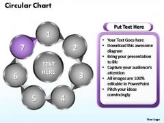 PowerPoint Designs Circular Flow Chart Ppt Slide