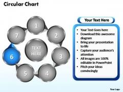 PowerPoint Designs Circular Flow Chart Ppt Slides