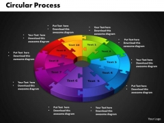 PowerPoint Designs Circular Process Ppt Backgrounds