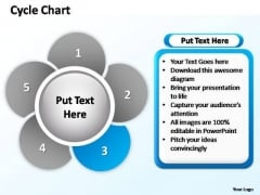 PowerPoint Designs Company Cycle Chart Ppt Process