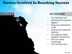 PowerPoint Designs Company Factors Involved Ppt Slides