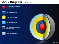 PowerPoint Designs Company Strategy Targets Core Diagram Ppt Themes