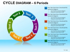 PowerPoint Designs Corporate Strategy Cycle Diagram Ppt Template