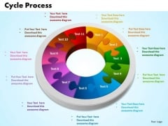 PowerPoint Designs Cycle Process Leadership Ppt Template