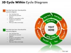 PowerPoint Designs Diagram Circular Chart Ppt Slides