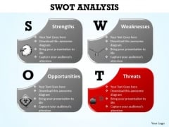PowerPoint Designs Diagram Swot Analysis Ppt Template