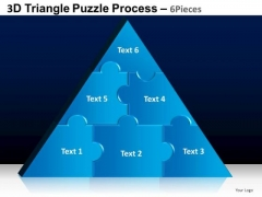 PowerPoint Designs Diagram Triangle Puzzle Ppt Templates