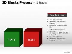PowerPoint Designs Editable Blocks Process Ppt Design Slides