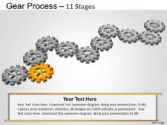PowerPoint Designs Editable Gears Process Ppt Design