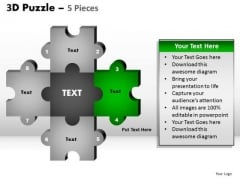 PowerPoint Designs Editable Puzzle Pieces Ppt Theme