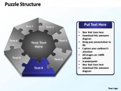 PowerPoint Designs Education Puzzle Structure Ppt Design