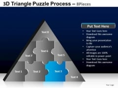 PowerPoint Designs Education Triangle Puzzle Ppt Designs
