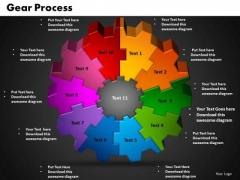 PowerPoint Designs Gear Teamwork Ppt Design