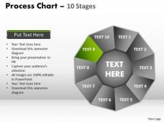 PowerPoint Designs Global Process Chart Ppt Design