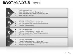 PowerPoint Designs Graphic Swot Analysis Ppt Backgrounds