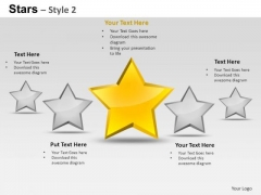 PowerPoint Designs Growth Stars Ppt Layouts