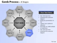 PowerPoint Designs Growth Wheel And Spoke Process Ppt Design Slides