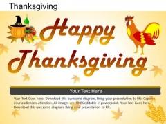 PowerPoint Designs Happy Thanksgiving Ppt Design