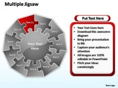 PowerPoint Designs Leadership Cycle Process Ppt Slides
