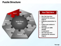PowerPoint Designs Leadership Puzzle Structure Ppt Templates