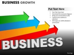 PowerPoint Designs Marketing Business Growth Ppt Slides
