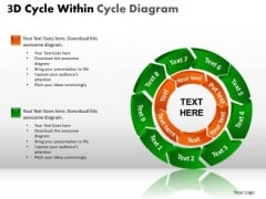 PowerPoint Designs Marketing Circle Chart Ppt Themes