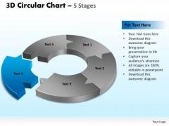 PowerPoint Designs Marketing Circular Chart Ppt Designs