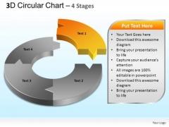PowerPoint Designs Marketing Circular Chart Ppt Templates