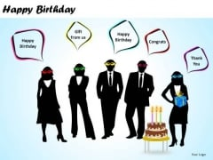 PowerPoint Designs Marketing Happy Birthday Ppt Designs