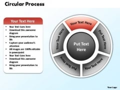 PowerPoint Designs Process Circular Process Ppt Themes
