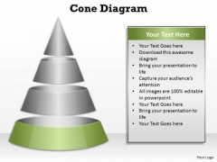 PowerPoint Designs Process Cone Diagram Ppt Slide Designs