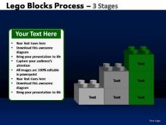 PowerPoint Designs Process Lego Blocks Ppt Templates