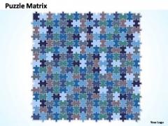 PowerPoint Designs Process Rectangular Jigsaw Puzzle Ppt Presentation
