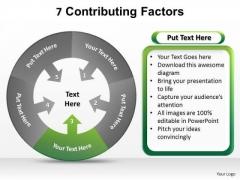 PowerPoint Designs Sales Contributing Factors Ppt Designsppt Designs