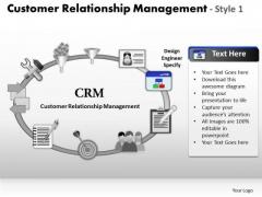 PowerPoint Designs Sales Customer Relationship Management Ppt Slide