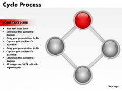 PowerPoint Designs Sales Cycle Process  Ppt Backgrounds