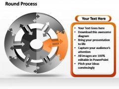 PowerPoint Designs Sales Round Moving Ppt Theme