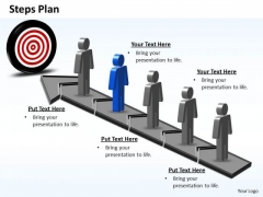 PowerPoint Designs Sales Steps Plan 5 Stages Style 6 Ppt Themes
