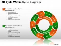 PowerPoint Designs Strategy Circle Process Ppt Slides