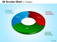 PowerPoint Designs Strategy Circular Chart Ppt Backgrounds