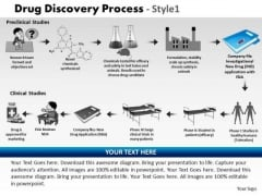 PowerPoint Designs Strategy Drug Discovery Process Ppt Themes