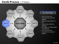PowerPoint Designs Strategy Hub And Spokes Process Ppt Template