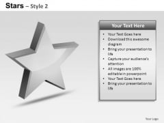 PowerPoint Designs Strategy Stars Ppt Layouts