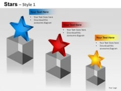 PowerPoint Designs Strategy Stars Ppt Themes