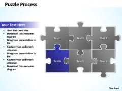 PowerPoint Designs Success Puzzle Ppt Backgrounds