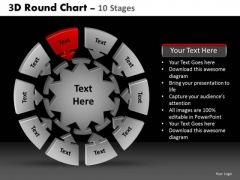 PowerPoint Designs Success Round Chart Ppt Themes
