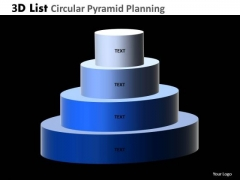 PowerPoint Designs Teamwork Circular Pyramid Ppt Design