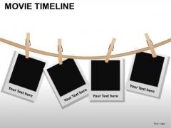 PowerPoint Designs Teamwork Movie Timeline Ppt Theme