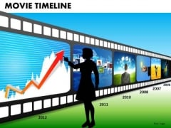 PowerPoint Film Strip Timeline Ppt Templates
