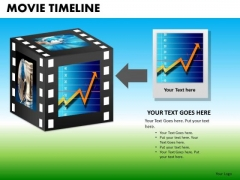 PowerPoint Filmstrip Corporate Education Movie Timeline Ppt Template